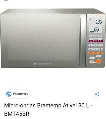 Micro ondas 30 litros Brastemp  - Foto 3