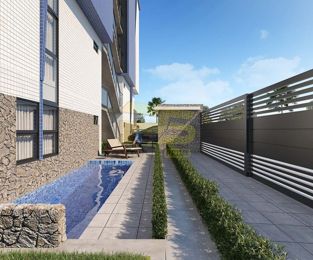 Apartamento à venda com 2 dormitórios em Bancários, João pessoa cod:PSP695 - Foto 4
