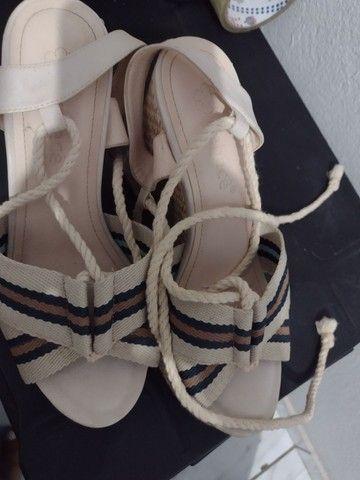 Vendo ou troco sandália 36/37 - Foto 2