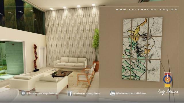 Condomínio Florais dos Lagos, casa Sobrado com 4 suites, em fase de construção - Foto 5