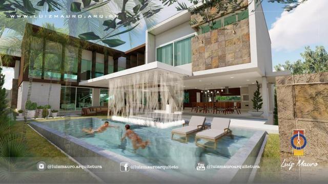 Condomínio Florais dos Lagos, casa Sobrado com 4 suites, em fase de construção - Foto 14