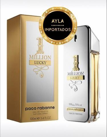 5 x R$: 67,80 Perfume Paco Rabanne 1 Million Lucky 100ml