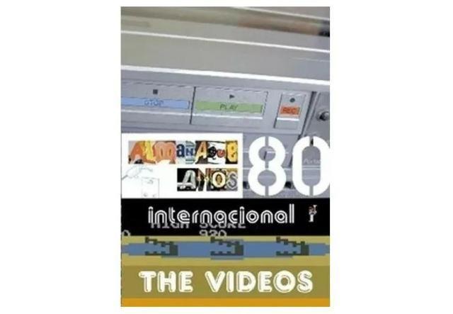 Dvd Almanaque Anos 80 - The Videos - Internacional - Antiguidades ... ae7d0256575af