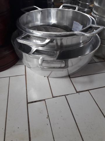 Panelas de alumínio batido pra restaurantes - Foto 3