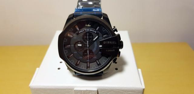 36bc6eaa24c Relógio Diesel Dz4355 Masculino - Original - Preto - Bijouterias ...