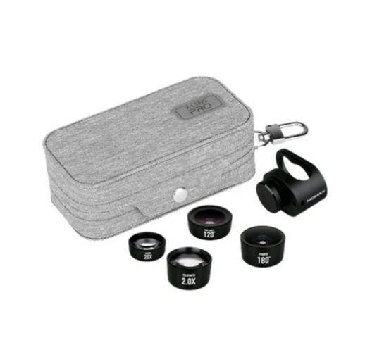c7a8b1bfa6f Kit 4 Em 1 Lentes Pro Para iPhone 7, iPhone 7 Plus E 8 Plus ...