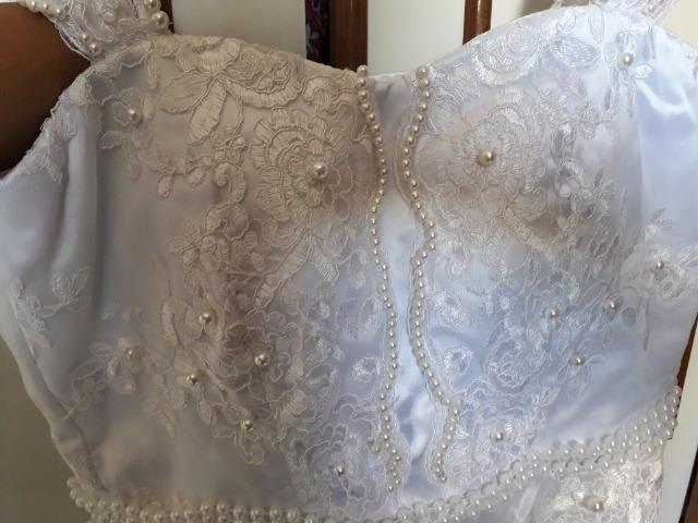 b485624d3 Vestido curto branco noiva festa debutante - Roupas e calçados ...