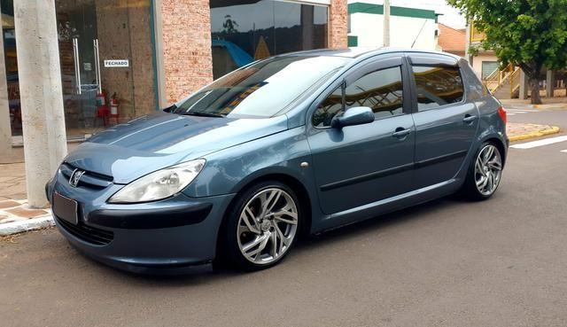 Peugeot 307 1.6 - legalizado fixa e rodas 17