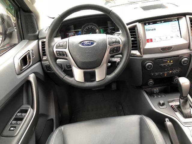 Ford Ranger Limited 3.2 4x4 Diesel 2019 Top de Linha Unico dono - Foto 12