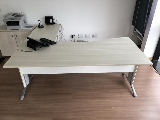 Mesa de Escritório Usada (tamanho grande) - ref.01 - Foto 2