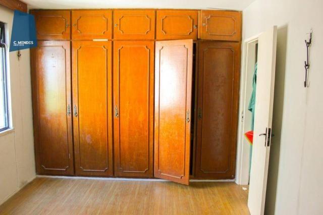 Apartamento com 3 dormitórios para alugar, 100 m² por R$ 1.600/mês - Papicu - Fortaleza/CE - Foto 15