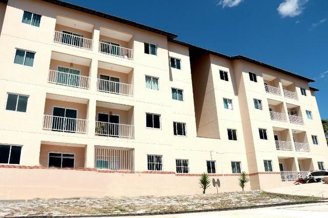 Apartamento com doc. gratis: 2 quartos, 2 banheiros , piscina, salao de festas - Foto 11
