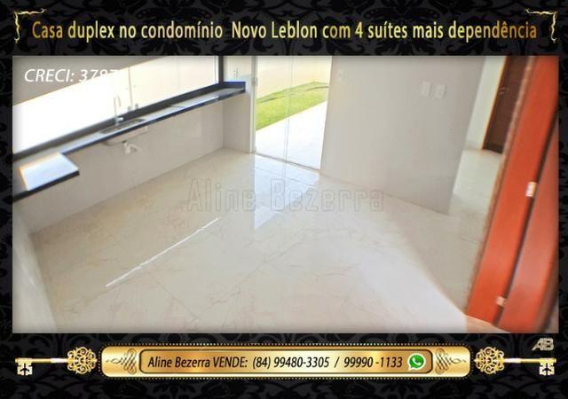 Duplex com 5 suítes no condomínio Novo Leblon, confira - Foto 5