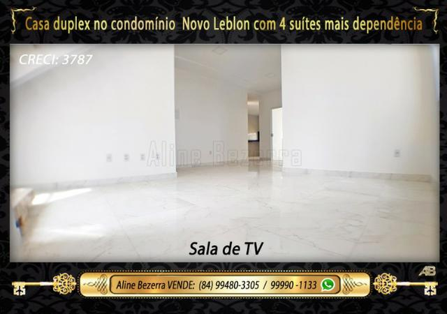 Duplex com 5 suítes no condomínio Novo Leblon, confira - Foto 2
