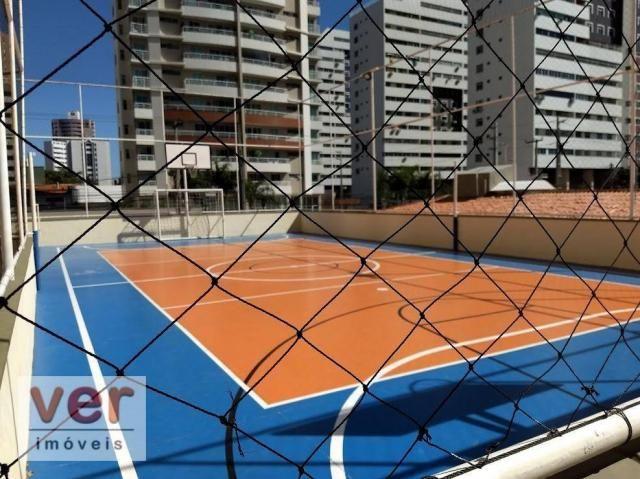 Apartamento com 3 dormitórios à venda, 137 m² por R$ 850.000,00 - Cocó - Fortaleza/CE - Foto 13