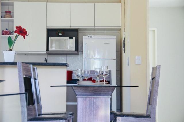 Apartamento com doc. gratis: 2 quartos, 2 banheiros , piscina, salao de festas - Foto 19