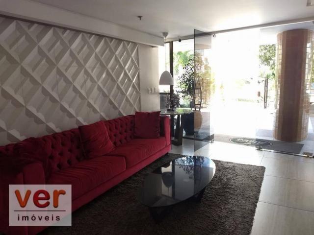 Apartamento com 3 dormitórios à venda, 137 m² por R$ 850.000,00 - Cocó - Fortaleza/CE - Foto 14