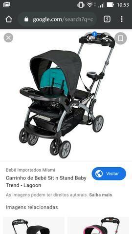 Carrinho para bebês, Sit In Stand americano - Foto 6