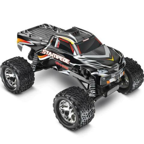 Traxxas 1/10 Stampede Monster Truck RTR With Id, 2.4GHZ, Black
