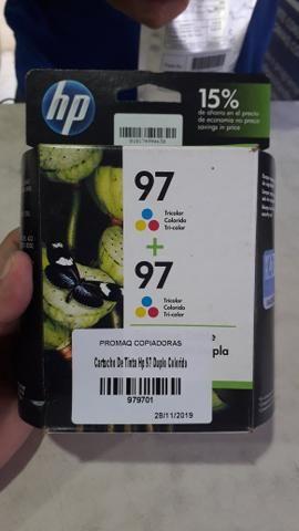 Cartucho HP 97, embalagem dupla