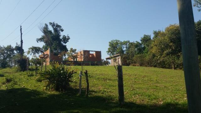 Vendo terreno com casa para terminar - Foto 5