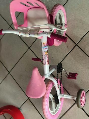 Bike da Princesinha - 03 a 05 anos