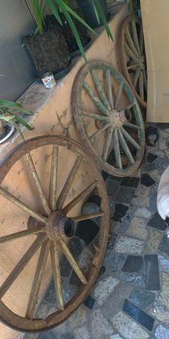 3 rodas de carroça