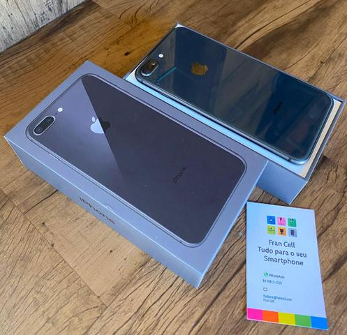IPhone 8 Plus 64GB Cinza Espacial. GARANTIA ATÉ JULHO 2020. ACEITO CARTÃO - Foto 3