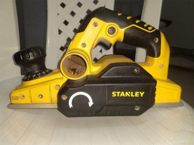 Plaina elétrica Stanley * R$: (450,00) - Foto 5