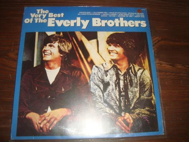 Everly Brothers, Lp vinil usado em raro estado de conservação