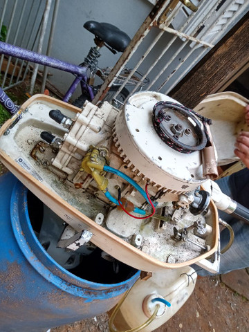 Motor de Barco 9.2 - Foto 2