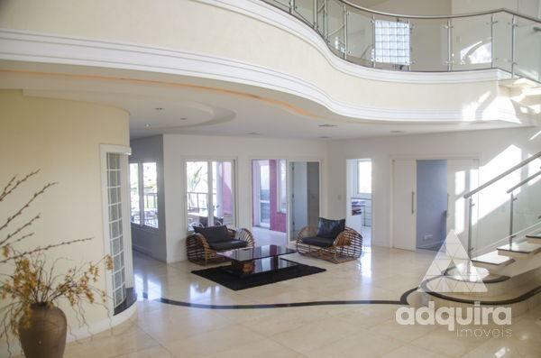 Casa em condomínio com 4 quartos no Villagio Del Tramonto - Bairro Estrela em Ponta Grossa - Foto 4