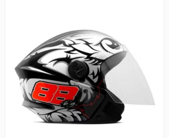 Novidade capacete Pro tork - Foto 4