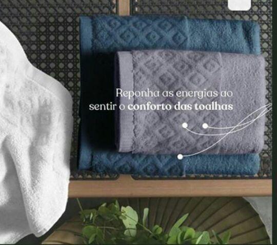 Vende-se conjunto de toalha em acompanhamento com a toalha de rosto - Foto 5