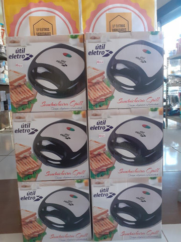 Sanduicheira Grill útil eletro