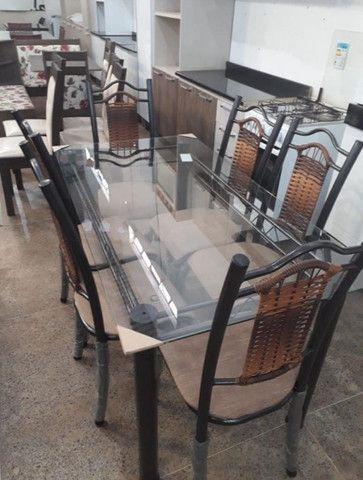 Mesa Itália 6 Cadeiras - Foto 5