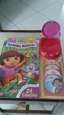 Brinquedo Dora a pilha novissimo vd/tr - Foto 2