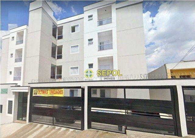 Apartamento com 2 dormitórios para alugar por R$ 1.400,00/mês - Jardim Brasília - São Paul