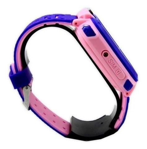 Relógio smart Rastreador Infantil Localizador - Foto 3