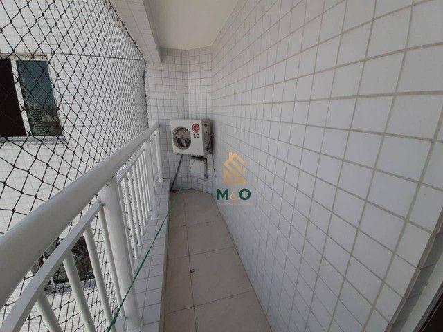 Apartamento com 3 dormitórios à venda, 73 m² por R$ 420.000,00 - Cambeba - Fortaleza/CE - Foto 3