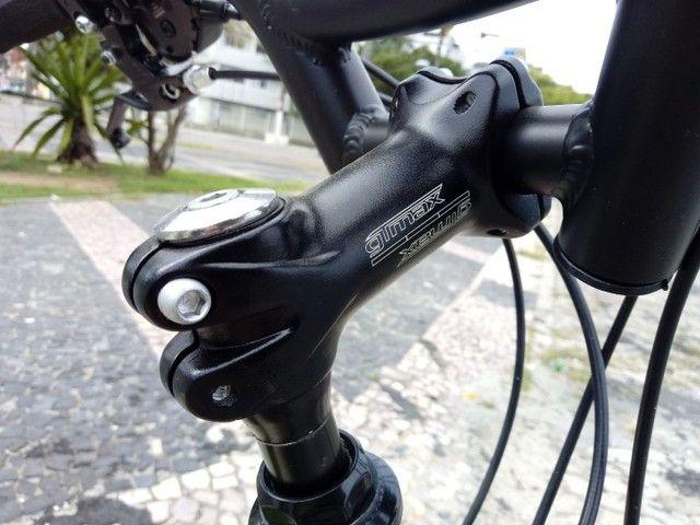 Bicicleta 21v alumínio ZERO BALA! - Foto 4