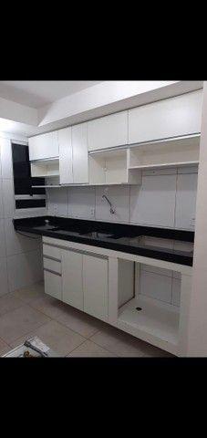 apartamento semi mobiliado aluguel