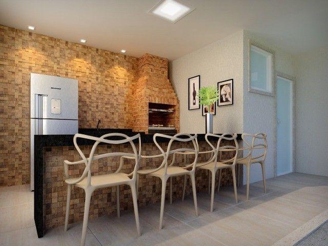 Porto Santiago MRV 2 dormitórios sacada com churrasqueira Protásio Alves - Foto 5
