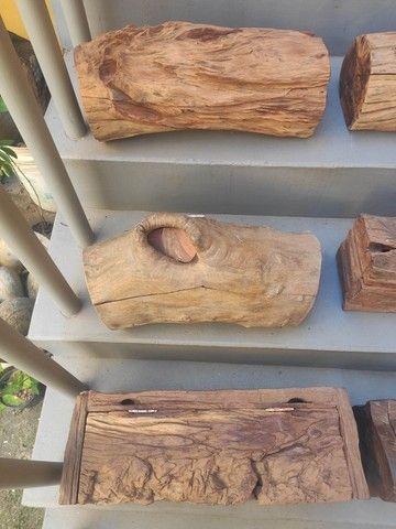 Baús em madeira rústica - Foto 5