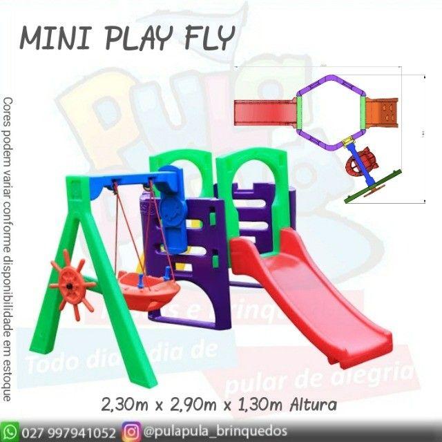Venda Playground Petit Play com balanço colorido - Apenas por encomenda - Foto 4