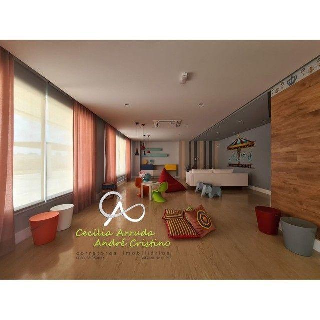 apartamento 4/4 suítes, varanda gourmet, vista livre permanente, Jardins, Aracaju/SE - Foto 20