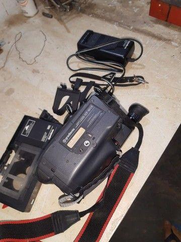 (Cód.022) Camera / Filmadora VHS Gradiente - Foto 2