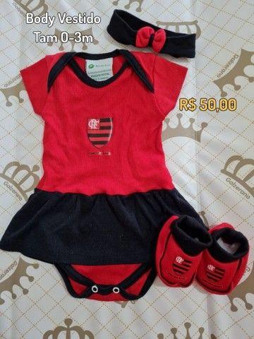 Bodies oficiais de time - Flamengo e Botafogo