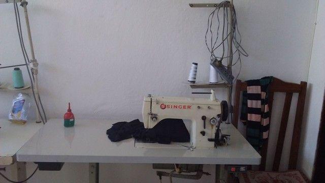 Maquina de costura singer industrial zig zag  - Foto 3