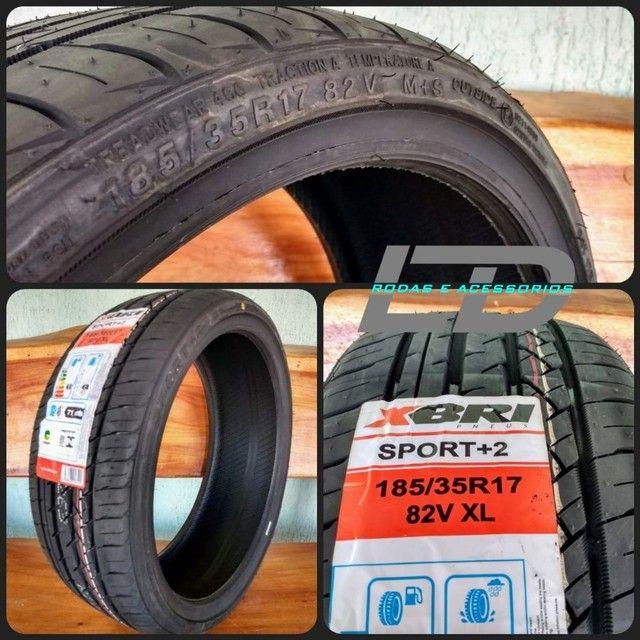 Pneus 185/35/17 novos com etiqueta marca Xbri